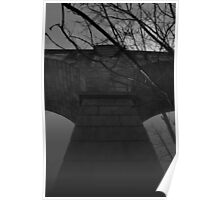 viaduct in the mist Poster