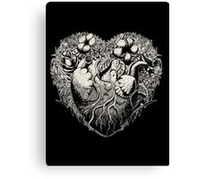 Foliage Heart II Canvas Print