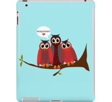 Budge up! iPad Case/Skin