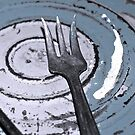 ...just a fork... by Lynne Prestebak
