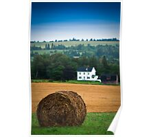 The Hay Bale Poster