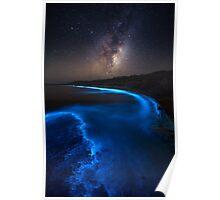 Milky Bioluminescence Poster