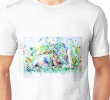 WATERCOLOR BISON Unisex T-Shirt