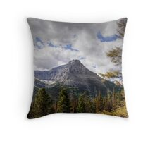 Glacier Peak Throw Pillow