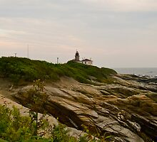 """Beavertail Lighthouse"" - Conanicut Island Series - © 2009 AUG by Jack McCabe"
