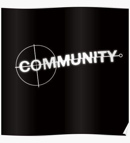 Community: Modern Espionage Poster
