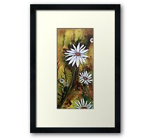 Forest Daisies  Framed Print