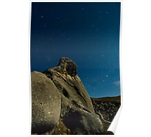 Castle Hill, Star Trails. Poster