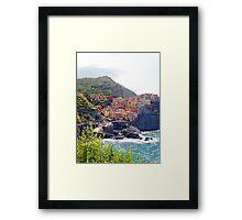 Beautiful Manarola, Cinque Terre Framed Print