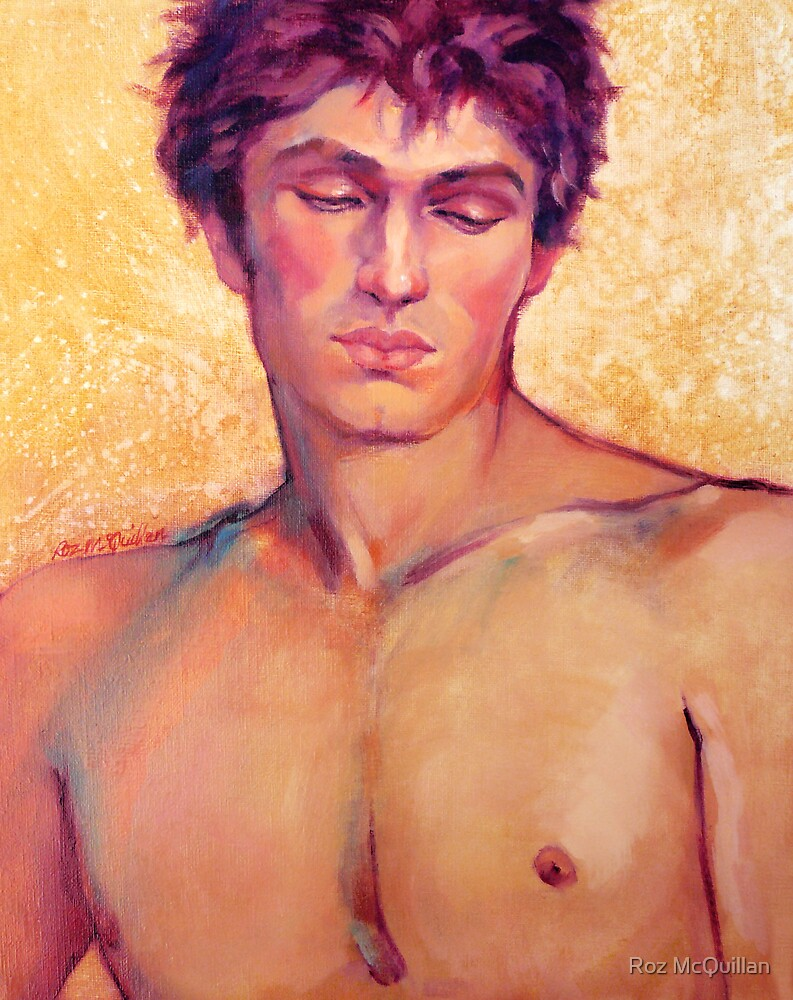 Portrait of Tomas #2 by Roz McQuillan