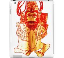 Monkey Bomb 1 Black iPad Case/Skin