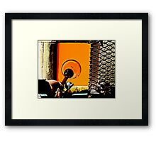 The Art Of Blowing Glass Framed Print