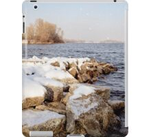 Snow Over the River iPad Case/Skin