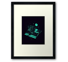 Crossing the Rough Sea of Knowledge Framed Print