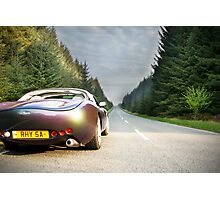 TVR - Just Drive Photographic Print