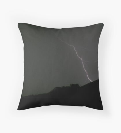 By Lightning Throw Pillow