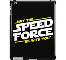 May The Speed Force Be With You iPad Case/Skin