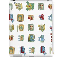 New Mayan Heirglyphs iPad Case/Skin