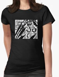 Comic Kids Womens Fitted T-Shirt
