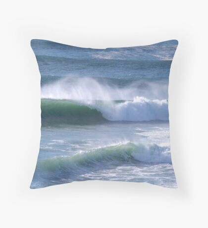 Angourie Surf June '09 Throw Pillow