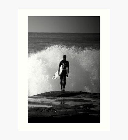Angourie Surfers #2 June '09 Art Print