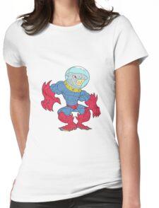 anthro shark!! Womens Fitted T-Shirt