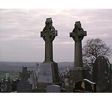 Celtic Crosses, The Irish Republic Photographic Print