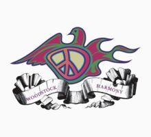 Woodstock Peace Dove by Zehda