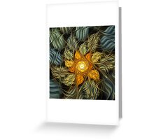 August's Sunflower Greeting Card