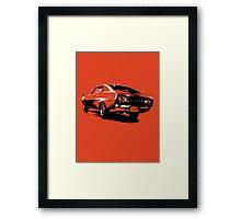 Datsun Skyline 2000 GTX Framed Print