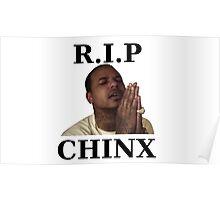 RIP CHINX Poster