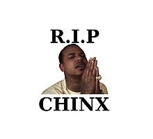 RIP CHINX Photographic Print