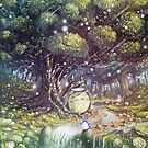 Totoro's Paradise by Roberto Nieto