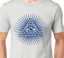 Eye Of Providence - All Seeing Eye Of God - Symbol Omniscience Unisex T-Shirt