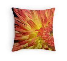Natures Flame Throw Pillow