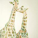 Giraffes by MistyHatten