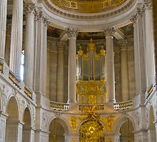 Chapel, Palace of Versailles - 1st floor by Sheila Laurens