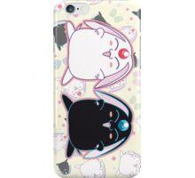 Black and White Mokona iPhone Case/Skin
