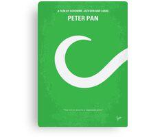 No248 My PETER PAN minimal movie poster Canvas Print