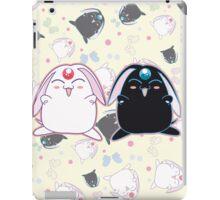 Black and White Mokona iPad Case/Skin