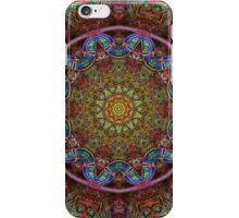 Pink Blue Kaleidoscope 150 iPhone Case/Skin