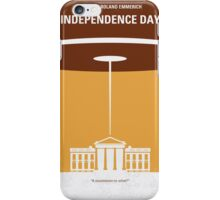 No249 My INDEPENDENCE DAY minimal movie poster iPhone Case/Skin
