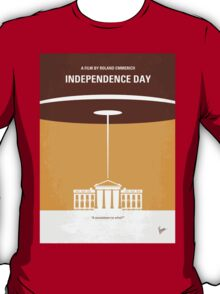 No249 My INDEPENDENCE DAY minimal movie poster T-Shirt