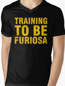 Training to be Furiosa - Mad Max Fury Road Mens V-Neck T-Shirt