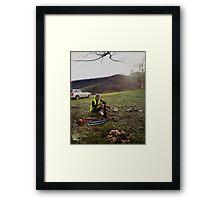 Strathewen Smoko Framed Print