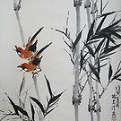 Black Bamboo signed by Thanh Duong