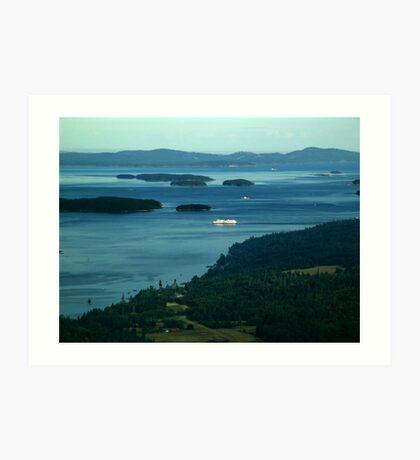 A Sea of Islands Art Print