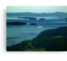A Sea of Islands Canvas Print