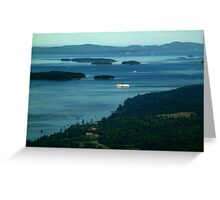 A Sea of Islands Greeting Card