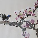 Purple Magnolia by Thanh Duong
